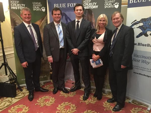 Conservatives against fox hunting blue fox founder tory conference MPs 2015