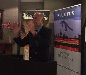ranaulph fiennes blue fox against hunting conservatives